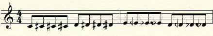 quartertone template